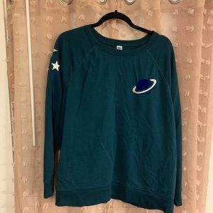 Old Navy space themed sweater